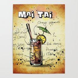 Mai Tai Poster