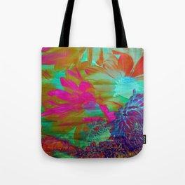 Floral Fantasy 2 Tote Bag