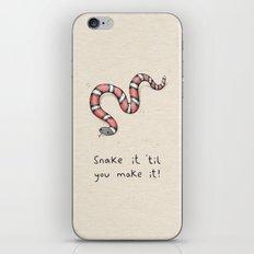Snake It iPhone & iPod Skin