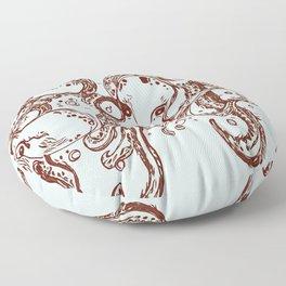 4 Little Octupus Floor Pillow