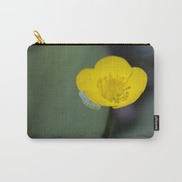 Inchworm Buttercup Carry-All Pouch