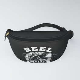 Mens Reel Cool Dad Funny design Great Gift For Fisherman Fanny Pack