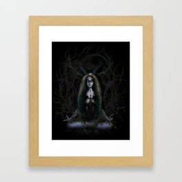 Earth Witch - Elements Collection Framed Art Print