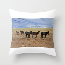 Traveling Show Throw Pillow