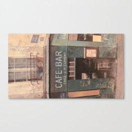 Cafe Bar Canvas Print