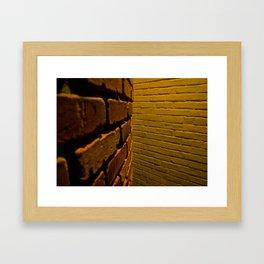 bricks Framed Art Print