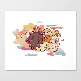 Summer Solstice Sisters Canvas Print