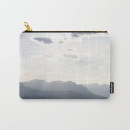 Sunset over the Rocky Mountains Carry-All Pouch