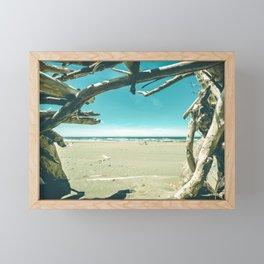 Drift Wood Castle Framed Mini Art Print