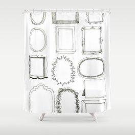 Frames Original Artwork Shower Curtain