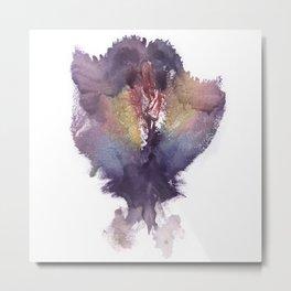 Verronica's Vulva Print No.2 Metal Print