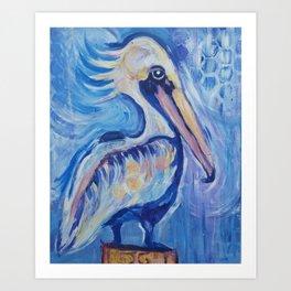 The Cortez Pelican Art Print