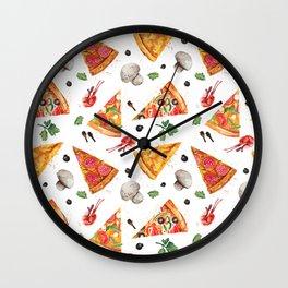 Pizza Lover's Delight Wall Clock