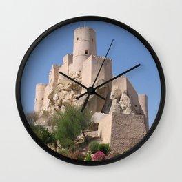 Al Jabrin Fort Bahla Oman Wall Clock