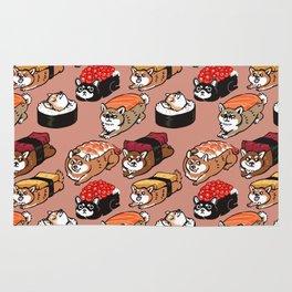 Sushi Shiba Inu Rug