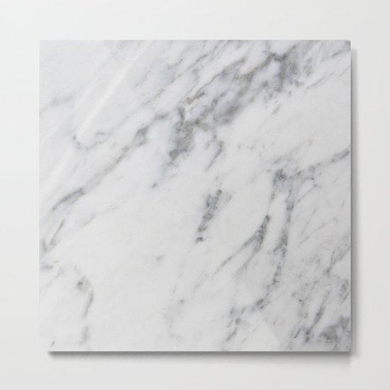 Real Marble 017 Metal Print