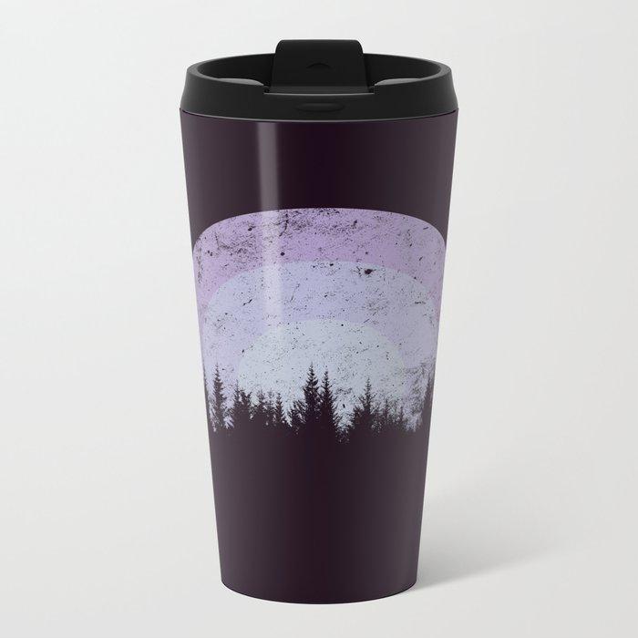Gloomy Sun Metal Travel Mug