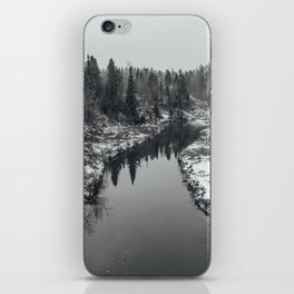 The first snow iPhone Skin