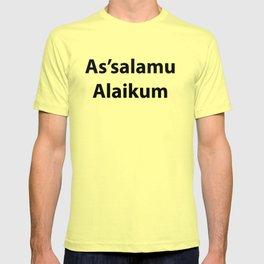 As'salamu Alaikum T-shirt