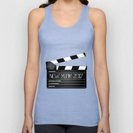 New Year 2017 Clapperboard Unisex Tank Top