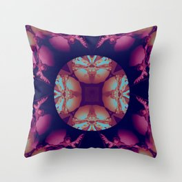 Mandala VII Throw Pillow