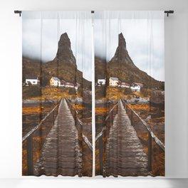 Magical Autumn Mountain  Blackout Curtain