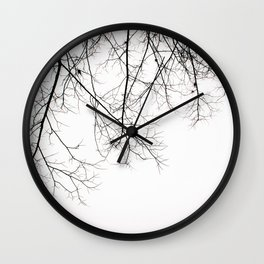 Creeping Branches Wall Clock
