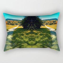 A long road into summertime Rectangular Pillow