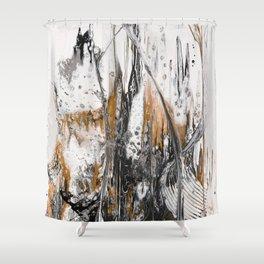 Goldrush #1 Shower Curtain
