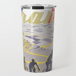 Le Tour de France retro poster Travel Mug