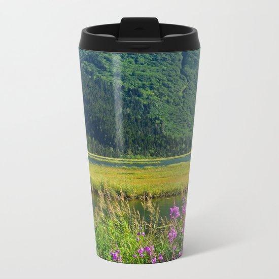July at Tern Lake Metal Travel Mug