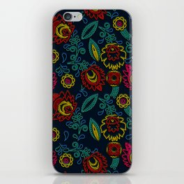 Embroidery iPhone Skin