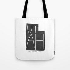 Utah | Gray Tote Bag