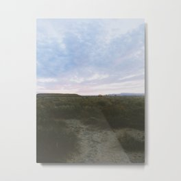 Of The Beaten Track In New Mexico Metal Print