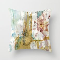 A French Experience Throw Pillow