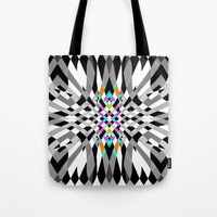 chic Tote Bags featuring Chic by Ornaart