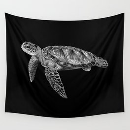 Sea Turtle 1 Wall Tapestry