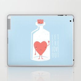 Let the LOVE Out Laptop & iPad Skin