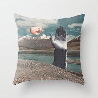BLOW A WISH Throw Pillow