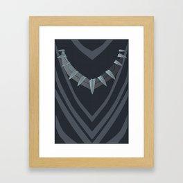 Panther Design Framed Art Print