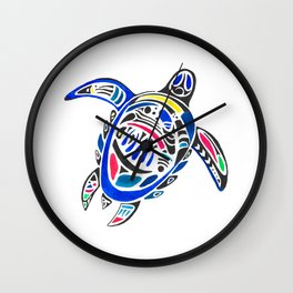 Declan The Sea Turtle Wall Clock