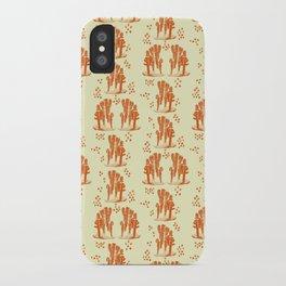 Marine corals iPhone Case