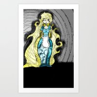 Dark Allie. Art Print