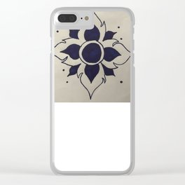 Lotusbloem Clear iPhone Case