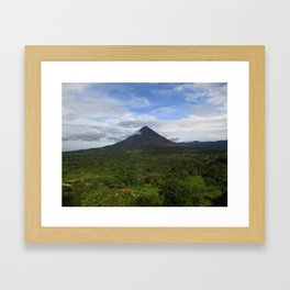 Violent Hill Framed Art Print