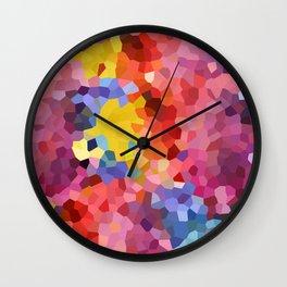 Cristal Watercolor Wall Clock