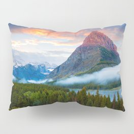 Glacier National Park Pillow Sham