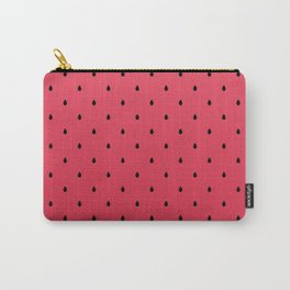 Watermelon Minimal Pattern Carry-All Pouch