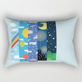 Skies Rectangular Pillow