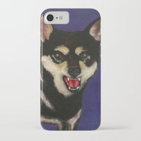 fierce iPhone & iPod Cases featuring FIERCE by Sasha Rad